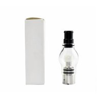 Wholesale pyrex wax tank for sale - Group buy Pyrex Glass Globe M6 Atomizer ml WAX Dry Herb Vaporizer Tank for Ego t EVOD Vision Spinner DHL