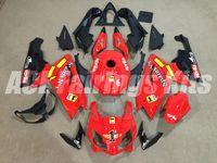 conjunto de carenagens moto venda por atacado-Novos kits de carenagem de moto ABS ABS Injeção Injection para aprilia RS125 2006-2011 RS 125 06 07 08 09 10 11 RS4 + tampa do tanque conjunto de carroçaria preto vermelho
