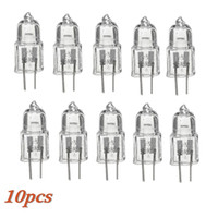 Best Promotion 10Pcs 12V 20W G4 Fog Halogène Lampe Lampe Jaune Lighting Capsule Clear Finish 2 Pins