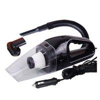Wholesale Car Hoover - Wholesale-12V 120W Universal Mini Car Vehicle Handheld Vacuum Cleaner brush Wet Dry CCC aspiradora de mano aspirateur aquapel hoover