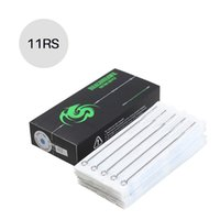 Wholesale 11rs Needle Tattoo - Disposable Sterilized Stainless Steel Tattoo Needles Clean & Safe MT-11RS