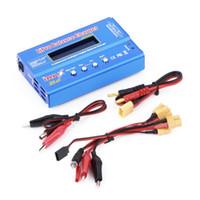 ingrosso cella lipo batteria-IMAX B6 80W Multi-function 1-6 Cells XT60 LiPo Bilanciamento batteria digitale
