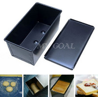 Wholesale Rectangle Nonstick Box Loaf Tin Kitchen Pastry Bread Cake Baking Pan Bakeware