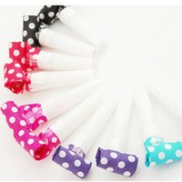 Grossiste-10pcs / lot Multi Party Party Blowouts Whistles Enfants Fête Favors Décoration Fournitures Noicemaker Jouets Goody Sacs