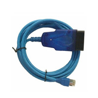 Wholesale Enet Cable - Enet Esys OBDII Coding Cable Comes With E-sys 3.24.2 Ethernet To OBD Interface Cable for BMW F series Coding and Programming