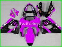 Wholesale Kawasaki Zx9r Price - Lower price bodywork fairing kit for Kawasaki Ninja ZX9R 98 99 purple black motorcycle fairings set ZX9R 1998 1999 TY53