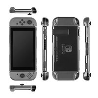Wholesale Switch Back - Clear Back Bag Protective Cover Case for Nintendo Switch Cases Cover Ultra Thin TPU Transparent Clear Case for Nintendo Switch
