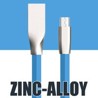Wholesale galaxy s4 blue - Micro USB Charger Cable for Samsung Galaxy S4 S6 6S Sync Data Charging Adapter for HTC LG Nokia for Android type c