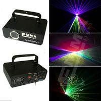Wholesale Scanner Rgb - 3D DMX 1000mw RGB Laser Stage Lighting Scanner DJ Show Blue Light Effect Projector Cool Disco Beam