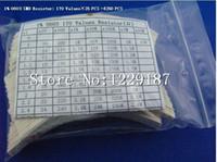 Wholesale Resistor Smt - Wholesale- New original1% 0603 SMD SMT Resistor Assortment Kit 170 value each 25pcs assorted pack #1260