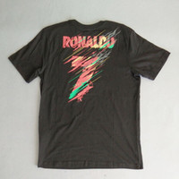 Wholesale Ronaldo T Shirts - #7 Ronaldo Soccer t-shirt, Trendy Comedy T- shirts ,#10 NEYMAR JR Cheap Tee shirt,Core Crest Tee Short Sleeve