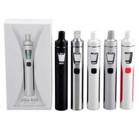 Wholesale Ego Coil Kit - Joyetech eGo AIO Kit With 2.0ml Capacity 1500mAh Battery BF-SS316 coil joytech ego aio starter kits DHL free