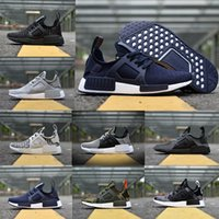 Wholesale noise red - Original NMD_XR1 PK Running Shoes Wholesale Cheap Sneaker NMD XR1 Primeknit OG PK Zebra Bred Blue Shadow Noise Duck Camo Fall Olive