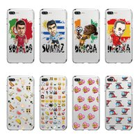 Wholesale Lg Star Cover - Phone Case For IPhone X 8 8plus 7 7Plus Animated Overlays and Sports Stars Pattern TPU Soft Case Cover
