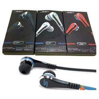 kulaklık sms dhl toptan satış-100 ADET DHL Moda SMS Ses 50 cent Kulak kulaklıklar Mini mic ile 50 cent ve dilsiz düğme kulaklık SOKAK tarafından 50 Cent kulaklık