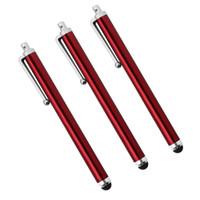 Wholesale Asus Pad Pen - Wholesale- 3PCS Capacitive Stylus for Asus Zenpad Z170 Z380 Z580 Styli Pen Touch Screen Tablet Pen for Memo Pad ME170C ME173C ME176C ME181C