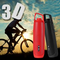 Wholesale Stereo Cell Phone Speaker - New Arrival Outdoor Sports Wireless Bluetooth Speaker Stereo Handsfre Player Lights Flashlights powerbank for universal cell phones