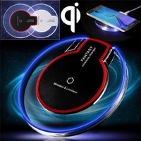 Hot Sale Luxury Qi Wireless Charger Pading Pad Mini para Samsung S6 S6 Edge iPhone 6 6 PLUS HTC Nokia etc.