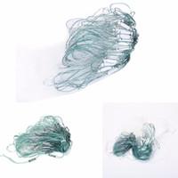 redes de emalhar venda por atacado-Venda QUENTE 20 m 3 Camadas de Monofilamento Rede De Pesca De Gill com Flutuador Peixe Armadilha Rede De Pesca Ferramentas De Pesca Por Atacado