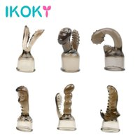Wholesale Male Vibrator Products - IKOKY AV Rod Head Cap G-spot Stimulate Vibrator Accessories Magic Wand Attachment Sex Products Adult Sex Toys for Women q170718