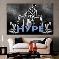 Wholesale Naked Painted Women - Popular Home decoration Wall Art Modern Wall Decor Abstract Naked men and women dance picture Spray painting Art On High Quality Canvas