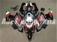 Wholesale Aprilia Rs125 Fairing Set - Three free beautiful gift new high quality ABS Injection fairing plates for Aprillia RS125 2006-2011 RS125 RS4 bodywork set red black silver