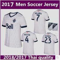 Wholesale Russell Football Jersey - thai quality 2017 Vancouver Whitecaps Soccer jerseys 2017 2018 Canada Darren Mattocks Octavio Rivero Russell Teibert WASTON men football shi
