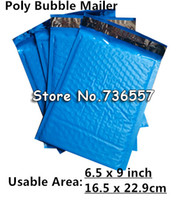spacing tape - New Style PB Blue X9inch X229MM Usable space Poly bubble Mailer envelopes padded Mailing Bag Self Sealing