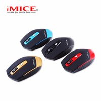 Wholesale Portable Notebook Computer - Original iMice E-2350 Mini 2.4GHz Wireless Mouse Portable 1600DPI LED Optical Mouse For PC Computer Notebook Laptop Mice