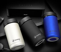 Wholesale Car Color Personality - 2016 400ml Stainless Steel Car Mug Outdoor Camping Hiking Portable Tea Coffee Insulation Cup With Colorful Box