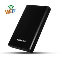 Wholesale Network Disk - Wholesale- 2.5'' USB3.0 WIFI SATA HDD Hard Drive HDD Enclosure Case HDD Case3.0 Hard Disk Box NAS Network Wireless Router For Hard Disk