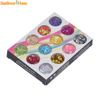 Wholesale Newly Design Mini Heart Shape Tips Nail Art Glitter Decoraion Manicure