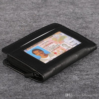 Wholesale Designer R - Lock Wallet Prevent Identity Theft Fraud Casual Short Designer Card Holder Pocket Fashion Purse Ultrathin ID Zipper Bag 6 5nf R