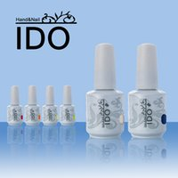 Wholesale uv gel nail polish ido - Wholesale-Gel Nail Art 15ml IDO (Choose Any 6 Colors) Gel Varnish Long Lasting UV Led Lamp Gel Polish 302 Colors Choose Gel Nail