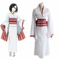 Wholesale Japanese Yukata Costumes - Noragami Nora cosplay costumes Kimono Yukata Japanese anime Noragami clothing Masquerade Mardi Gras Carnival costumes supply from stock