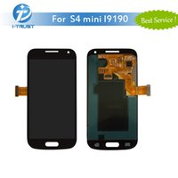 Wholesale Galaxy S4 Lcd Black - AAA Quality LCD For Samsung S4 mini i9190 LCD Display Screen Digitizer Repair Replacement With Free DHL Shipping Color Black& White