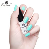Wholesale One Step Gel Nail Polish - Wholesale-Saviland 1pcs 3 in 1 Gel Nail Polish One Step Gel Lacquer Easy Use Nail Art Manicure Long Lasting Three in One Nail Gel