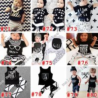 Wholesale Zebra Love - Ins Baby Boys Love Letter 2pc Sets Top Kids T-shirt & Striped Pants Toddler Infant Casual Short Sleeve Suits Summer Children Outfits