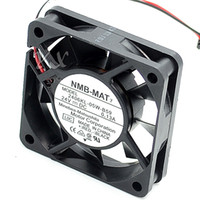 Wholesale fan nmb 24v wire resale online - For NMB KL W B59 T09 DC V A wire pin connector mm x60x15mm Server Square Cooling fan