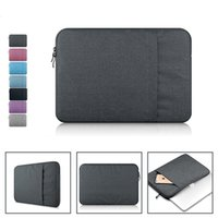 Wholesale Tablet Pouches Inch - Nylon Laptop Bag Sleeve Pouch for Macbook Air 11 13 Pro 13 15 Retina 13 15 Unisex Liner Sleeve Notebook Case