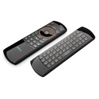 Wholesale Rikomagic RKM MK705 GHz in Wireless Air Mouse QWERTY Keyboard IR Remote Combo With Rechargeable Battery for Smart TV HTPC