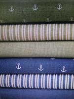 yeni stil giysiler toptan satış-Yeni Pamuklu bez Kumaş Masa örtüsü Deniz tarzı kumaş Çapa serisi Konfeksiyon kumaş DIY manuel