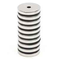 neodim mıknatıslar 5 mm diskler toptan satış-Toptan Satış - 10 adet / takım Disk Mini 29.7x4.7mm Delik 5mm N52 Nadir Toprak Güçlü Neodimyum Mıknatıs Toplu Süper Güçlü Yuvarlak Şekil Mıknatıslar