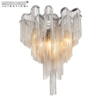 Wholesale French Vintage Art - French Chain Luster Chandeliers Lighting Fitting Flush Mounted Chandelier Lamp For Foyer Dining Room Restaurant Decoration