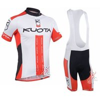 2017 Team Kuota Cycling Jersey Bike Vestuário Breathable Quick-Dry Ropa Ciclismo Short Sleeve Racing bicicleta Sportswear F1001