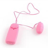Wholesale Wholesale Sex Bullets For Sale - Hot Sale Pink Single Jump Egg Vibrator Bullet Vibrator Clitoral G Spot Stimulators Adult Sex Toys for Women with OPP bag