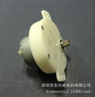 Wholesale Gear Head Motor - JS-500 DC speed reduction motor, plastic gear box reducer motor, fan head DC motor