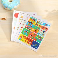(Melody Friends Special Day Objects Feelings Repeat Point Deco) 6sheets / pack Cute Useful My Melody Deco Sticker Toy