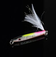 Wholesale Bulk Lures - 1 pcs Bulk New Lot Laser Jigs Sea Fishing Lures Metal Bait Iron Lead Fishing Tackle 5.7cm 11g