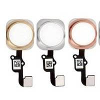 """Wholesale Key Wholesale Home - High Quality Touch ID Sensor Home Button Key Flex Cable Ribbon Replacement for iPhone 6s 4.7"""" 5.5 Inch free shipping"""